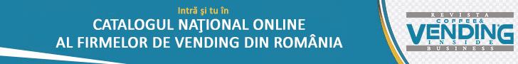 Intră şi tu în Catalogul Naţional Online al Firmelor de Vending din România